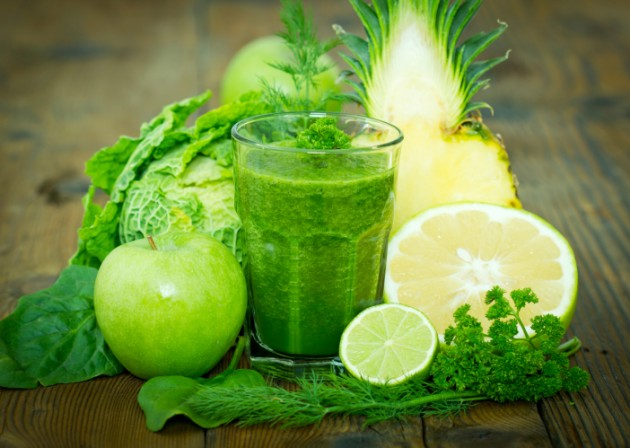 Jugos verdes: máxima nutrición