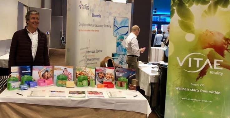 Vitae asiste a las conferencias de medicina funcional (FMC) en Galway, Irlanda.