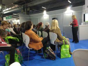 Ponencia sobre el ajo añejado en Expo Salud