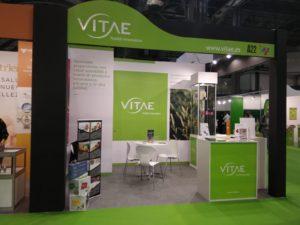 El estand de Vitae en Expo Salud