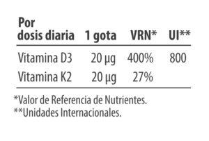 VitaminaD3K2 de alta absorción